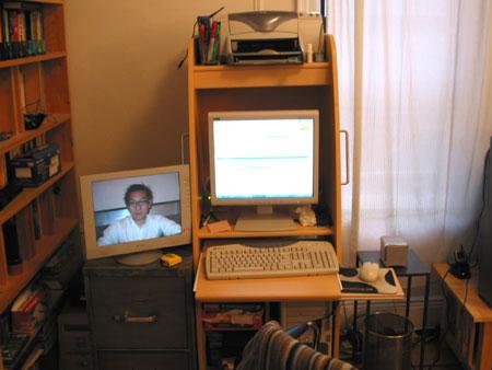 duplex monitor setup