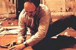 gene hackman rips up the floor in The Conversation