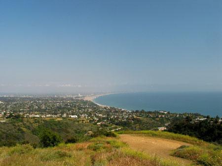 Los Liones Hike above Santa Monica