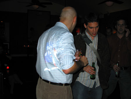 gizmodo party at starfoods, october 2003