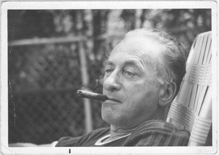 grandpa with cigar