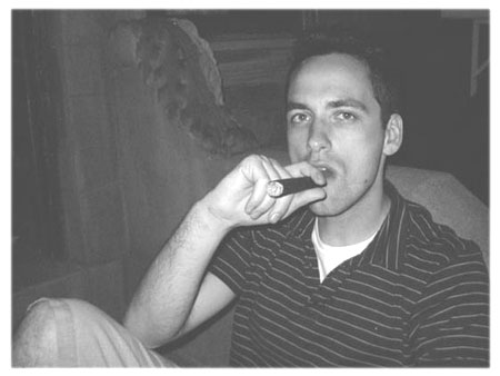 jake with cigar