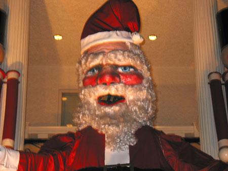 santa on 84th street in dyker heights