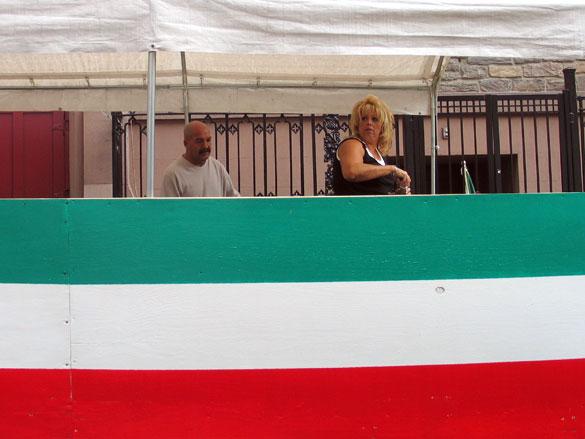 San Gennaro Festival, 11:15am