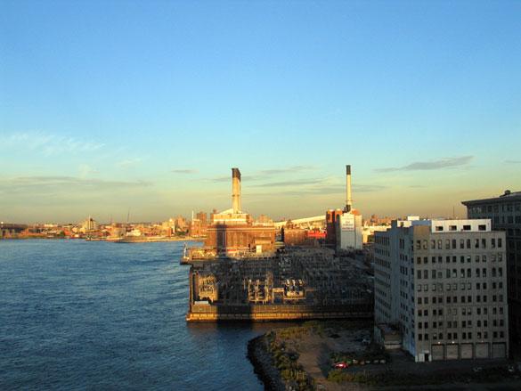 Manhattan Bridge at Sunset