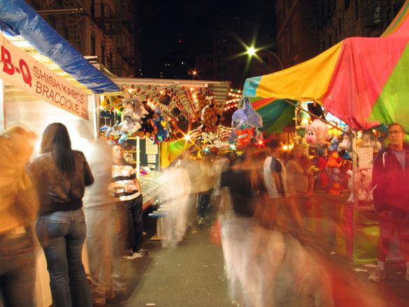 San Gennaro Festival, 10pm
