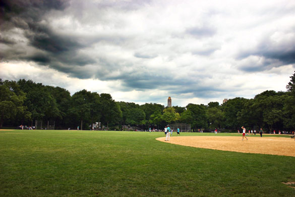 Cloudy Skies above Central Park