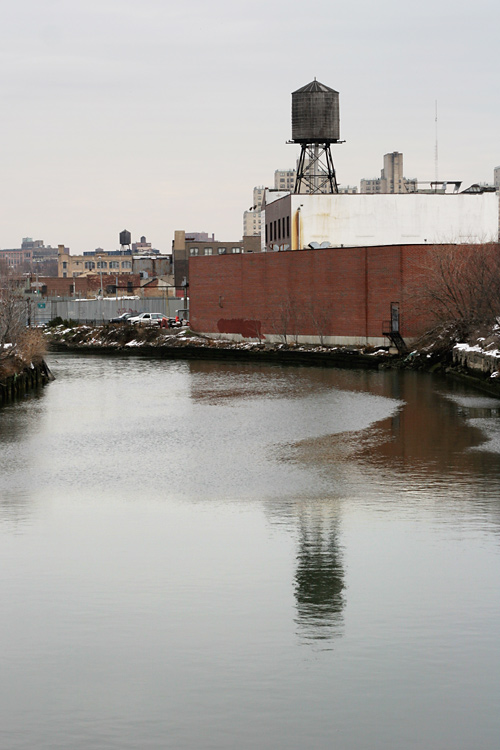Watertower over Gowanus