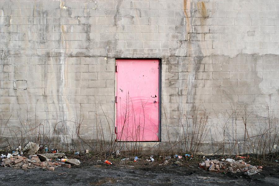 A Pink Door in Red Hook