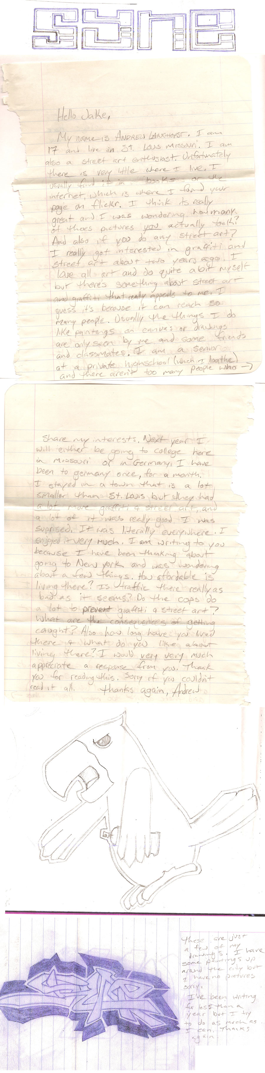 Letter From a Young Artist