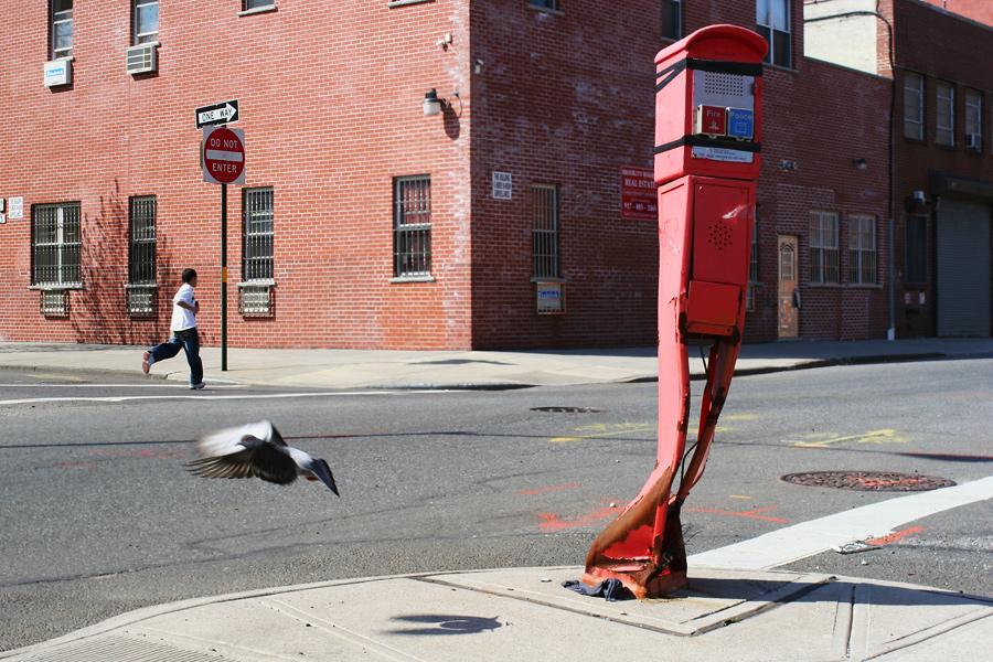 Boy, Pigeon, Crushed Firebox