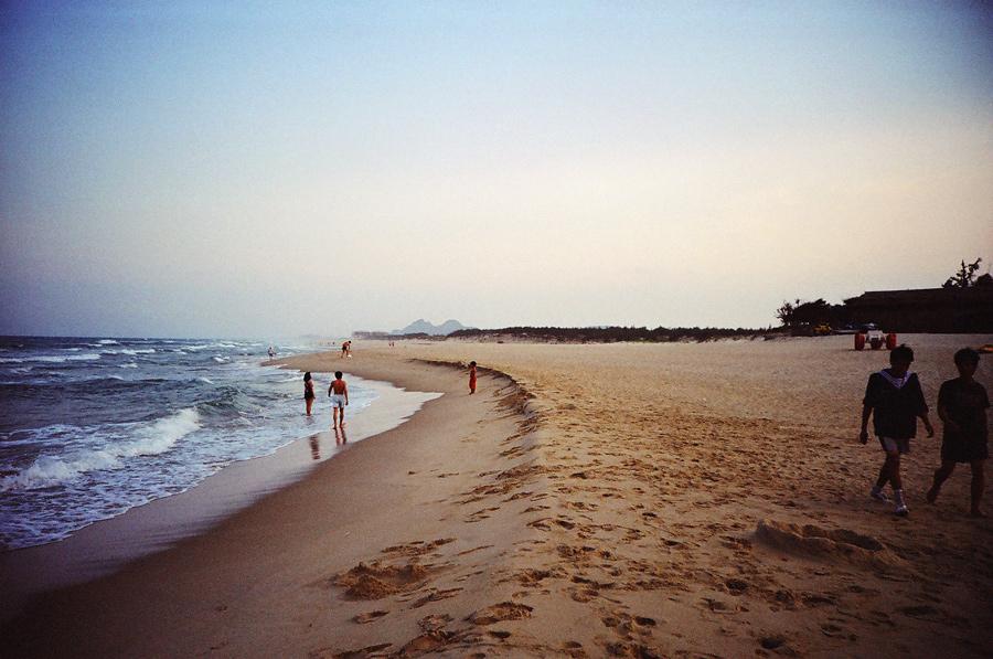 The Beach in Da Nang