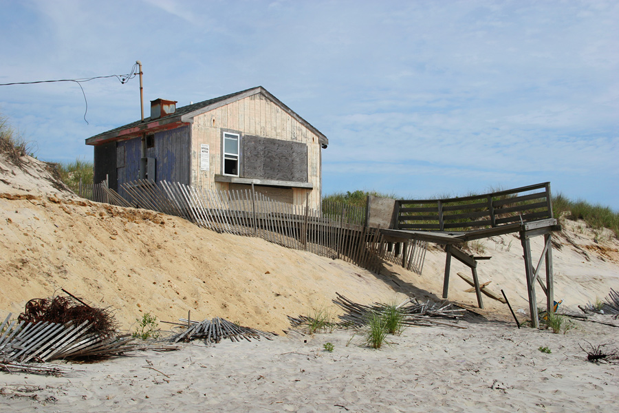 An Abandoned Shack on Quogue Beach