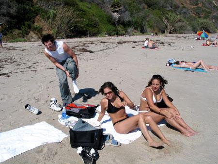 la piedra beach, malibu