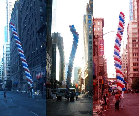 balloons for bastille day