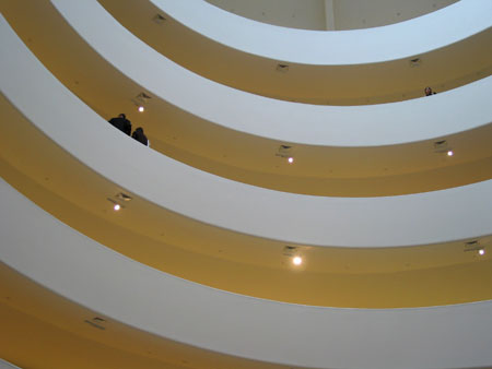 at the guggenheim, nyc