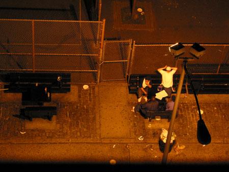 thompson street, midnight