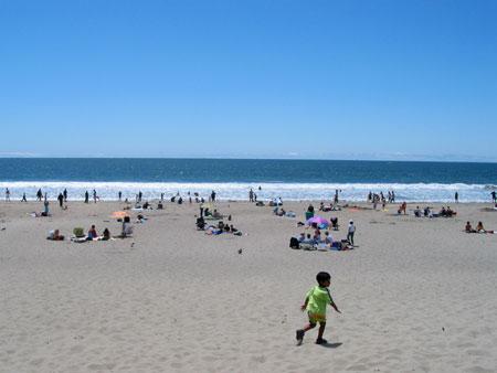 pacific coast highway, day 2, stinson beach