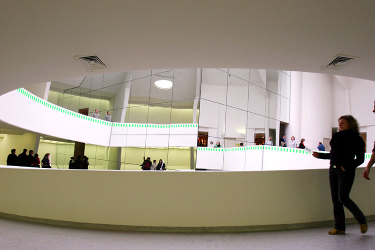 Daniel Buren at the Guggenheim
