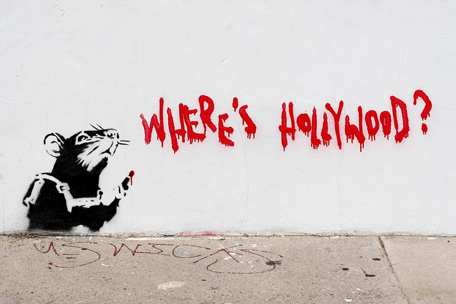 Banksy on Melrose in Los Angeles