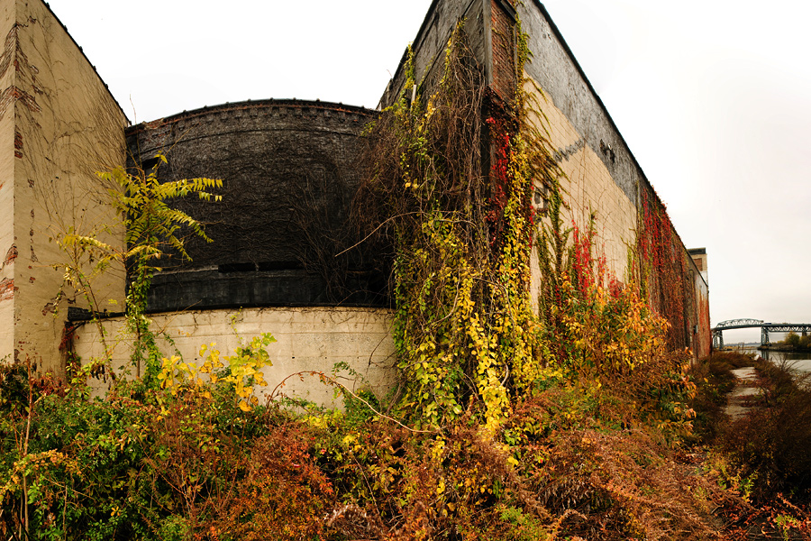 An Old Factory Near Newtown Creek