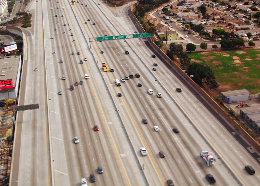 The 405 Freeway Near LAX