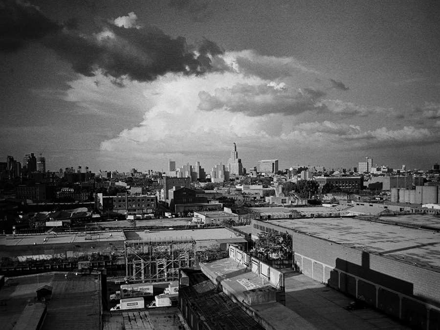 Unusual Clouds Above South Brooklyn