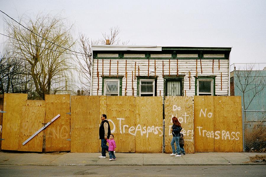 No Trespass in Red Hook